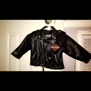 Children's Size 24 month Harley Davidson Jacket